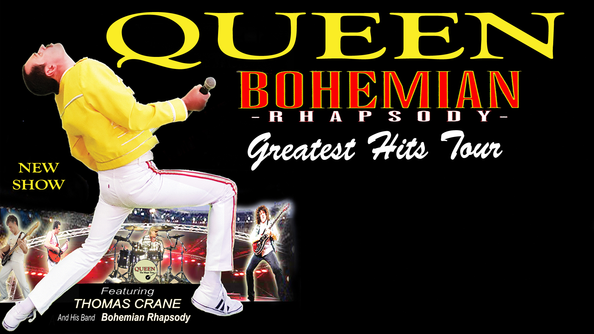 Queen Bohemian Rhapsody Greatest Hits Tour The Art House